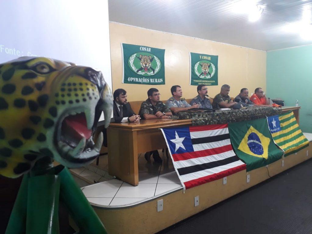 PMMA inicia 5ª turma do Curso de Operações e Sobrevivência em Área Rural – COSAR