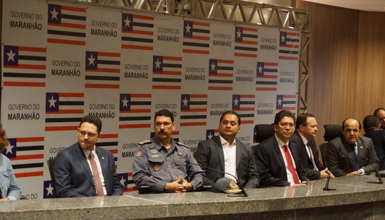 COMANDANTE GERAL DA PM PARTICIPA DA POSSE DE 94 POLICIAIS CIVIS NO MARANHÃO