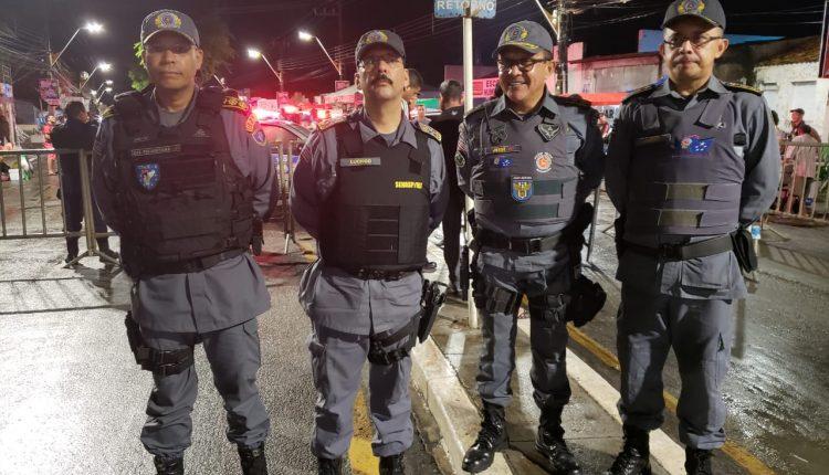 Policiamento ostensivo e preventivo mantém tranquilidade na área do CPAM-II