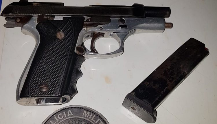 Homem é preso com arma de fogo na Vila Funil