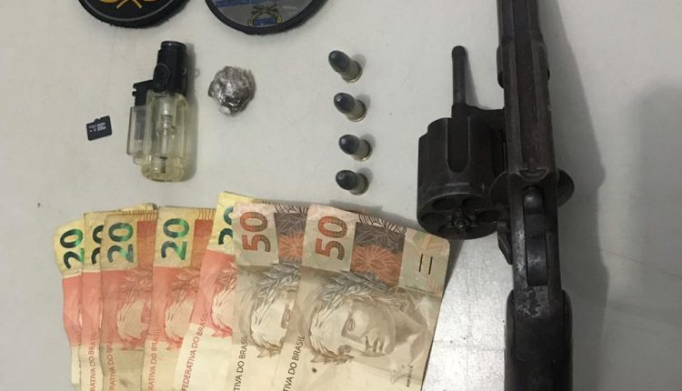 GTM do BPTUR prende suspeitos de praticar assalto com arma de fogo