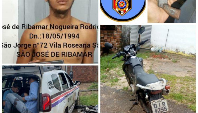 Dois homens são presos com arma de fogo em São José de Ribamar