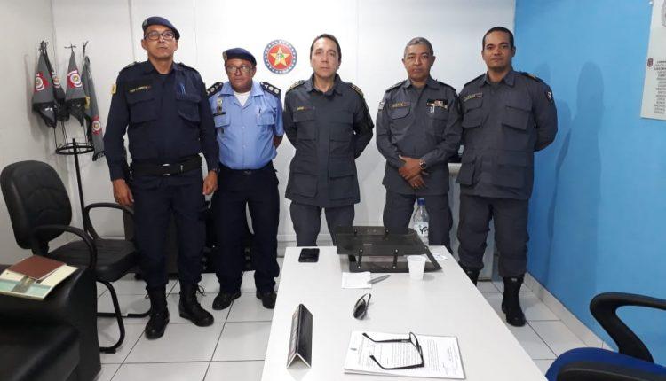 9° BPM e GUARDA MUNICIPAL planejam ações de segurança para a Praça Deodoro, Rua Grande e adjacências
