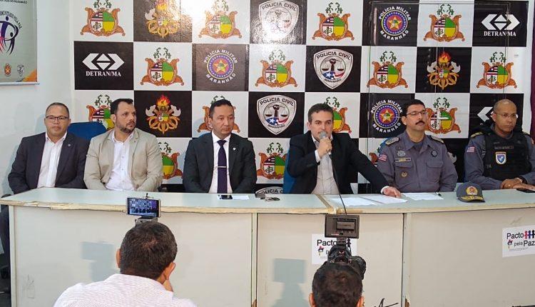 Coletiva apresentou suspeito de participação em latrocínio no Monte Castelo