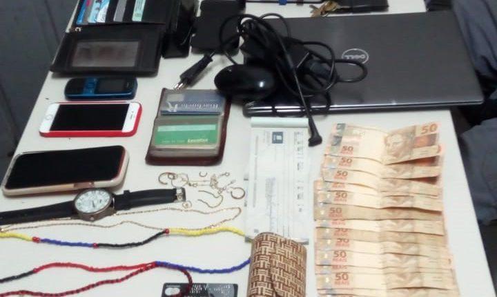 POLÍCIA MILITAR PRENDE CINCO SUSPEITOS DE ENVOLVIMENTO EM SEQUESTRO NA CAPITAL