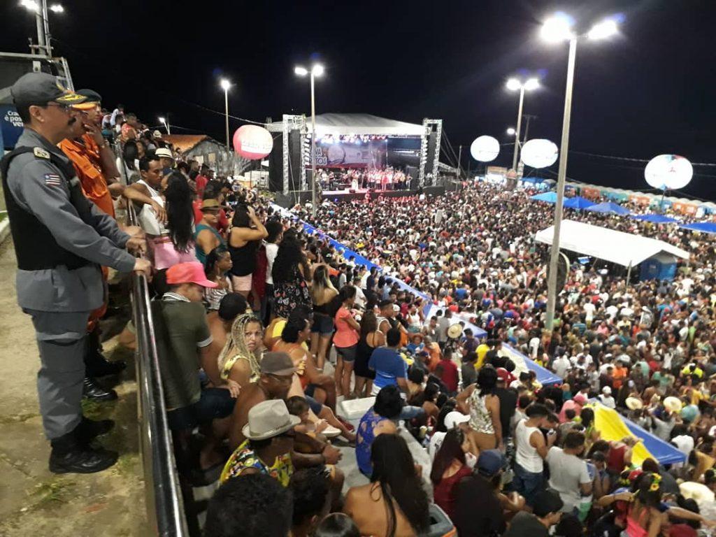 Comandante Geral da PMMA supervisiona Lava-Pratos em São José de Ribamar