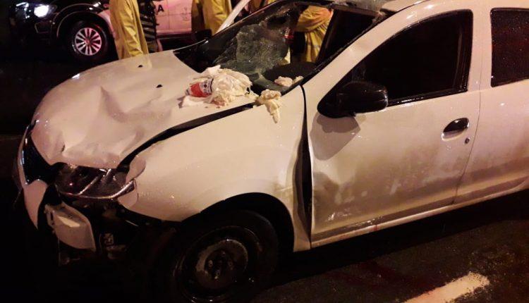 Policiais do BPTur prendem motorista que atropelou 6 pessoas na Avenida Vitorino Freire