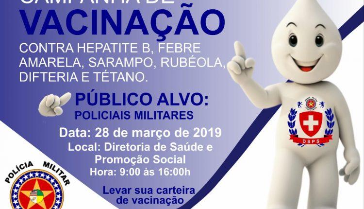 Campanha de vacinação 2019 DSPS