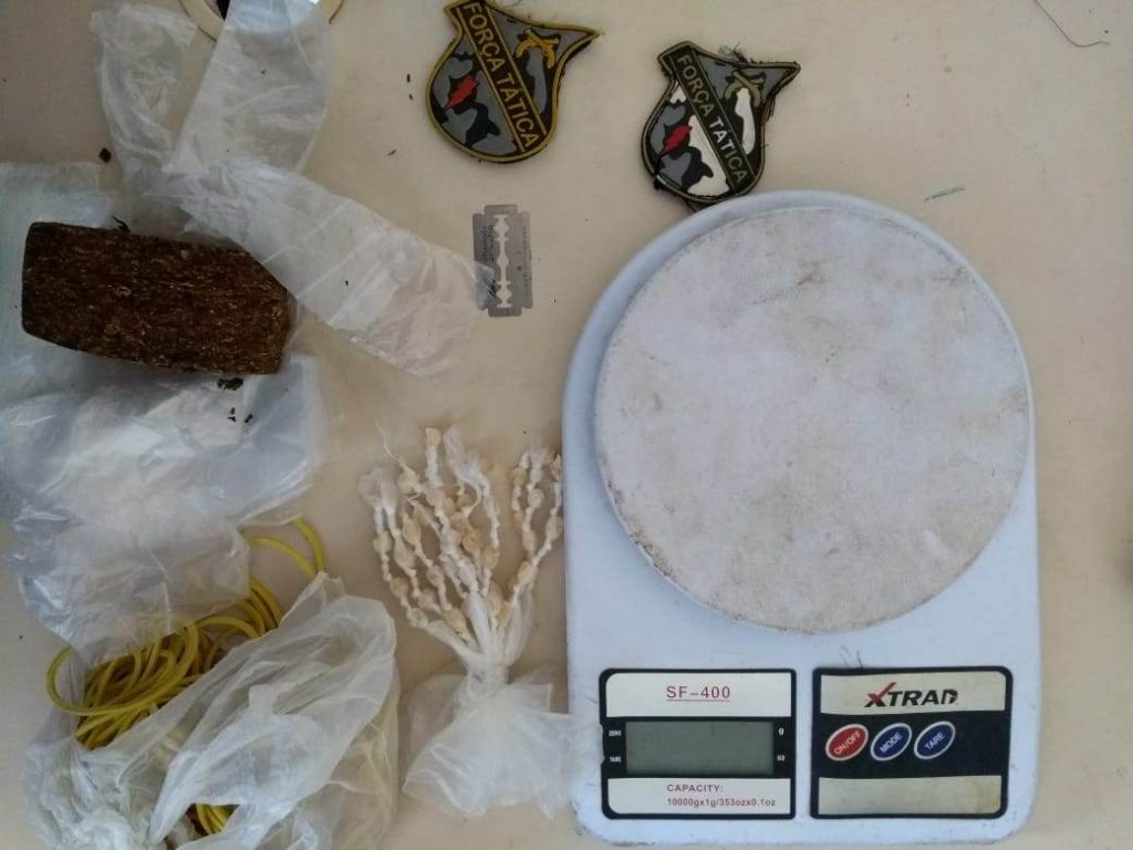 PM prende casal com drogas na cidade de Caxias
