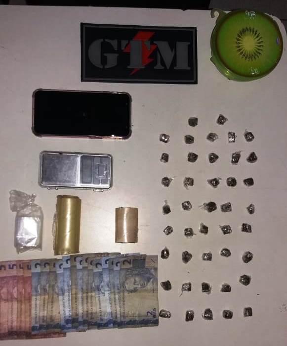 Ações do 1º BPM prendem suspeitos de tráfico de drogas na área Itaqui Bacanga