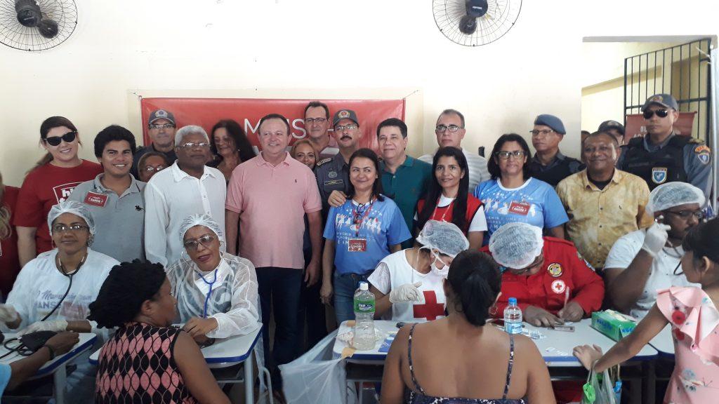 PMMA promove Ação Cívico Social no Bairro da Liberdade