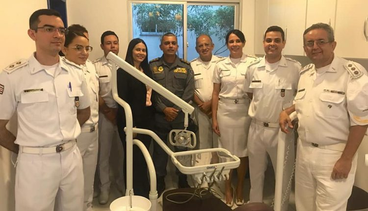 11º BPM em Timon inaugura gabinete odontológico