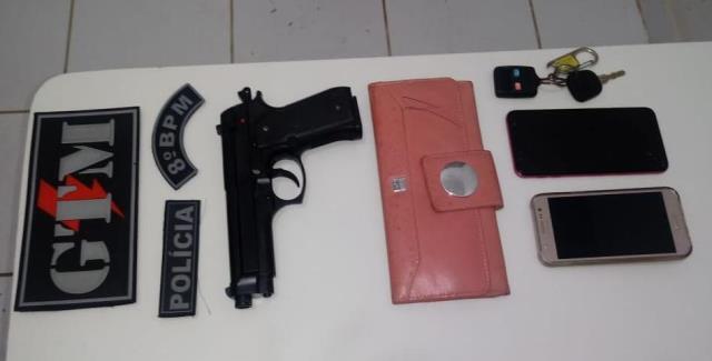8º BPM prende homem acusado de roubar veículo no Planalto Vinhais