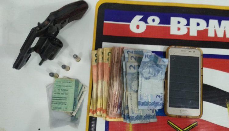 Policial militar do 6° BPM durante a folga prende casal em posse de arma de fogo após praticarem assalto
