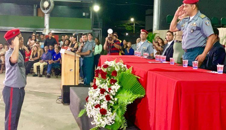 Solenidades marcam entrega de boina a alunos de Colégios Militares do Maranhão