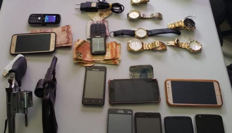 Policiais do 6º BPM prendem suspeitos de roubo em São Luís