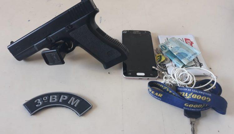 Arma de fogo é apreendida por Policiais do 3º Batalhão em Imperatriz