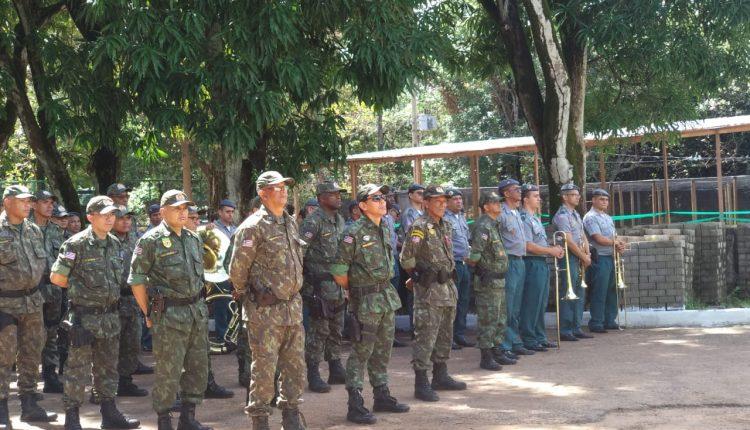 Batalhão Ambiental da PM comemora 28 anos de criação com inauguração do Espaço Ecológico Bacanga