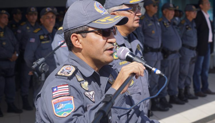 Comando da PMMA prestigia passagens de comando em Unidades Operacionais da Corporação.