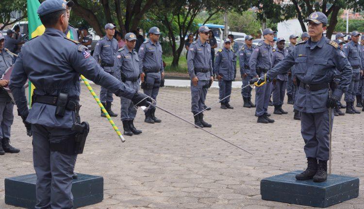 PMMA realiza passagem de comando do 1º Regimento de Polícia Montado, do 9º e 21º Batalhões