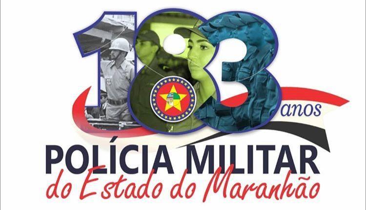 COMANDO LANÇA A LOGOMARCA DE ANIVERSÁRIO DE 183 ANOS DA PMMA