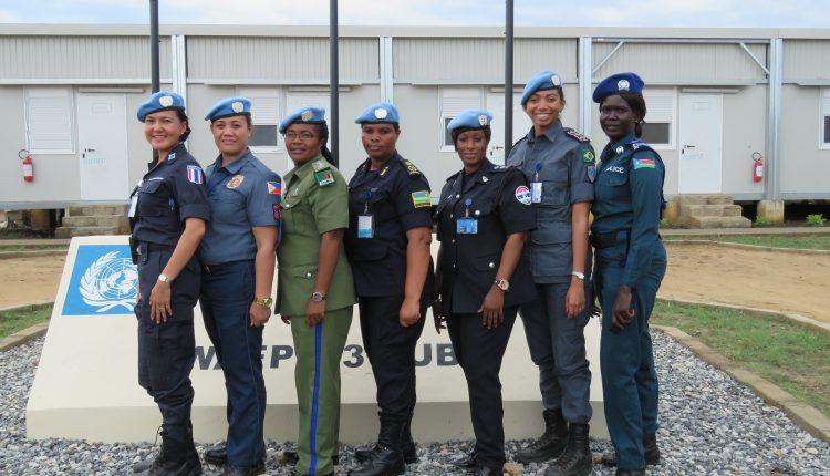 Capitã da PMMA coordena rede de mulheres policiais no Sudão do Sul