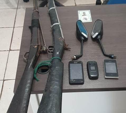 27º BPM apreende drogas e armas de fogo nos municípios de sua atuação