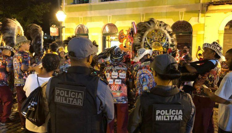 Polícia Militar garante segurança no início do São João do Maranhão