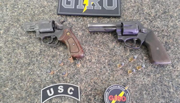 2ª USC apreende duas armas de fogo em sua área de atuação