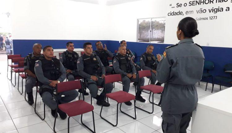 1º Batalhão realiza ciclo de instruções para Policiais