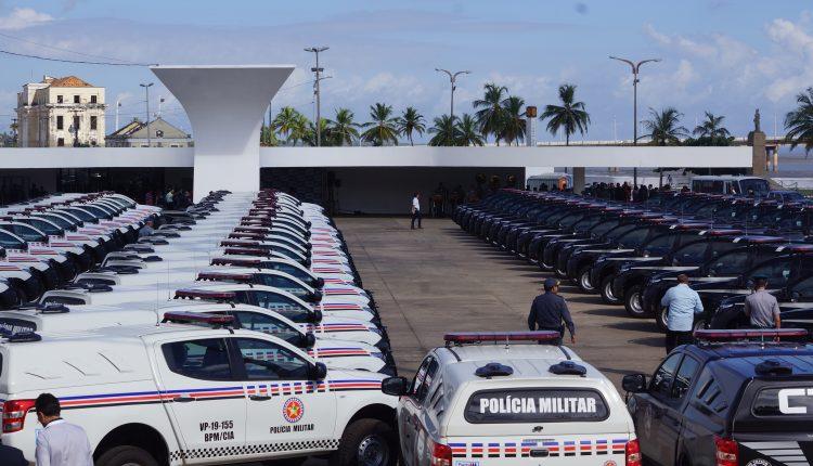 Governo do Estado entrega 90 viaturas às polícias militar e civil do Maranhão