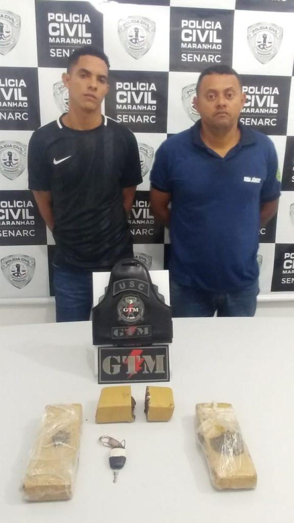 POLICIAIS DA 1ª USC DA VILA LUIZÃO APREENDEM 2,5KG DE MACONHA