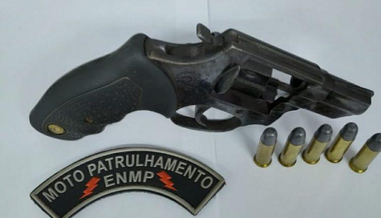 5º BPM apreende arma de fogo em Barra do Corda