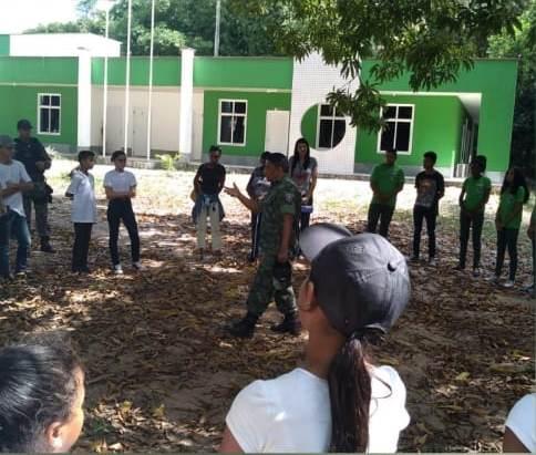 BPA conduz visita de crianças da Brigada Pantera pelo Parque Estadual do Bacanga