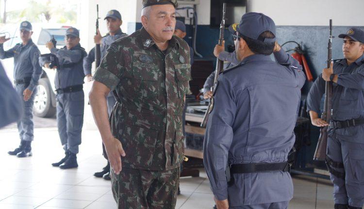 Comandante da 8ª Região Militar realiza inspeção na PMMA