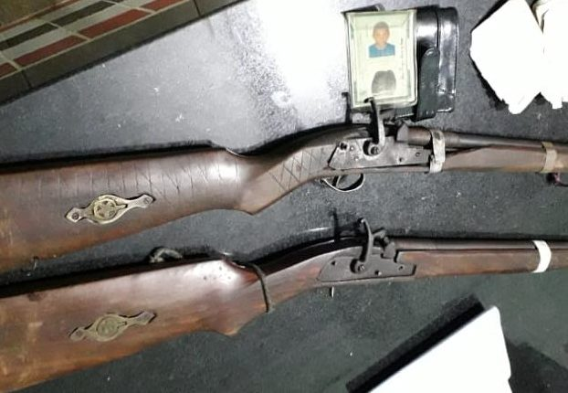 Polícia Militar apreendem armas e recuperam veículos roubados na Região de Grajaú