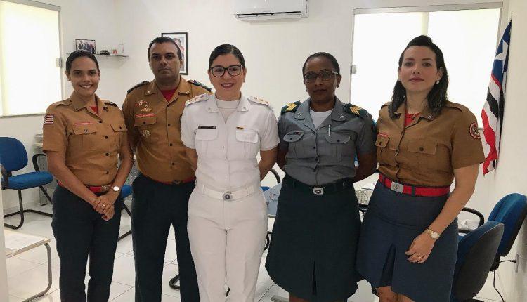 CAPS da PM apresenta aos Bombeiros Militares os serviços oferecidos para a PMMA