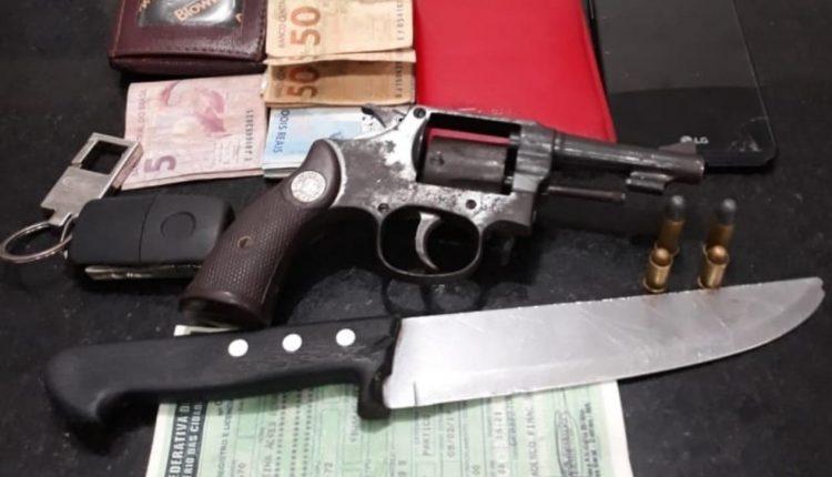 """Polícia militar apreende armas de fogo durante a operação """"CERCO TOTAL"""""""