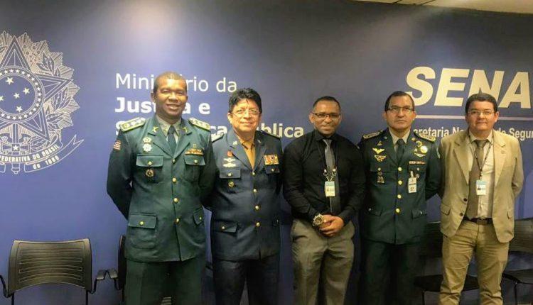 Comandante Geral da PMMA participa da II Reunião Nacional de comandantes Gerais