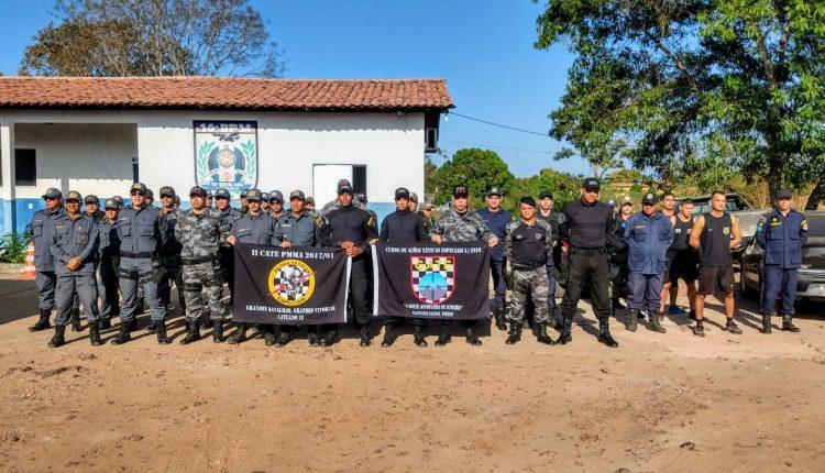 PMMA realiza Instrução de nivelamento de conhecimento em Chapadinha MA