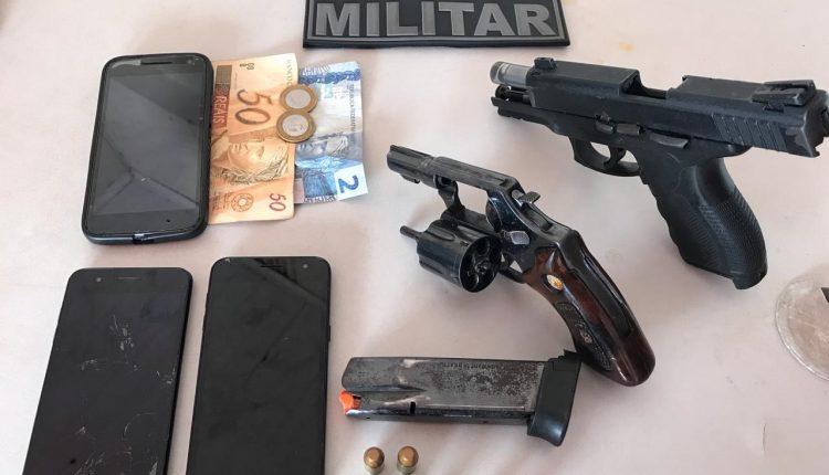 Polícia Militar apreende 2 armas de fogo no município de Guimarães