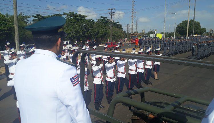 Policia Militar do Maranhão celebra 07 de setembro com desfile militar