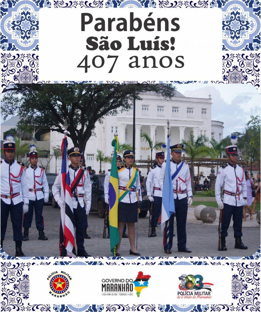 SÃO LUÍS 407 ANOS