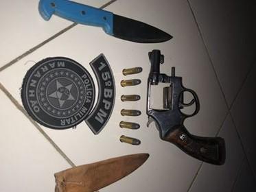 Polícia Militar apreende duas armas de fogo na cidade de Brejo de Areia