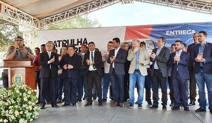 PMMA recebe viaturas por meio de convenio com a prefeitura de Timon-MA