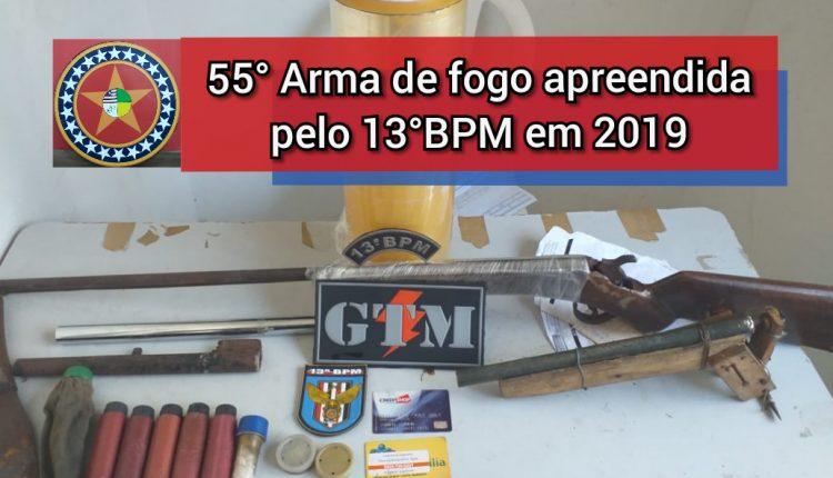 POLÍCIA MILITAR APREENDE DUAS ARMAS DE FOGO NO BAIRRO VILA NOJOSA EM SÃO JOSÉ DE RIBAMAR