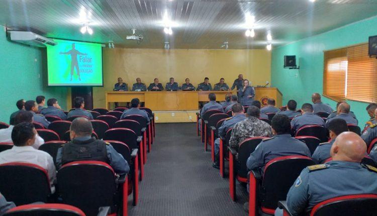 Polícia Militar realiza palestra sobre prevenção do suicídio