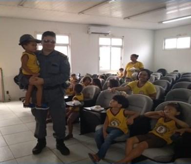 1ª USC promove ação em homenagem ao dia das crianças