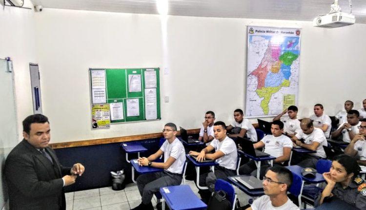 Cadetes da PMMA participam de oficina em Media Training na APMGD
