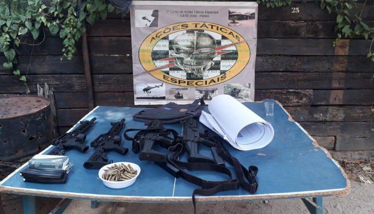 Polícia militar conclui 6° turma de nivelamento para uso do fuzil T-4 E SMT .40.